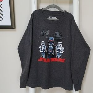 Licensed Starwars long sleeve T-shirt
